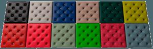На фото: панели могут быть любого цвета – все зависит от выбранного вами материала