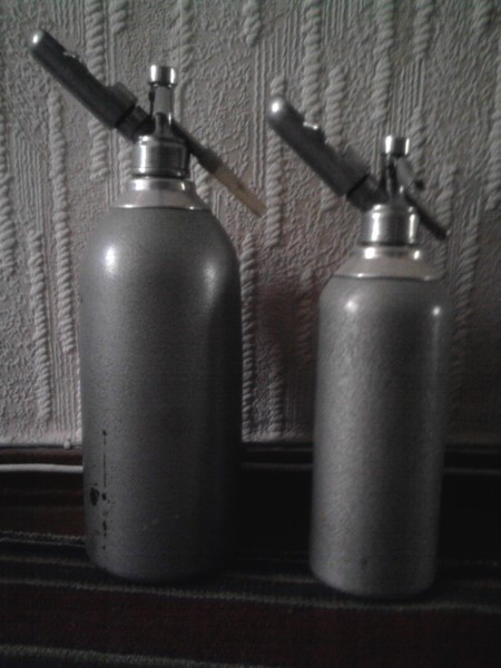 Советский аппарат для газировки