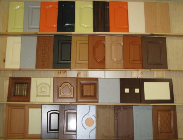Готовые фасады для кухни