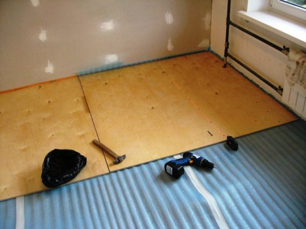 Утепление пола - необходимый процесс во время ремонта кухни