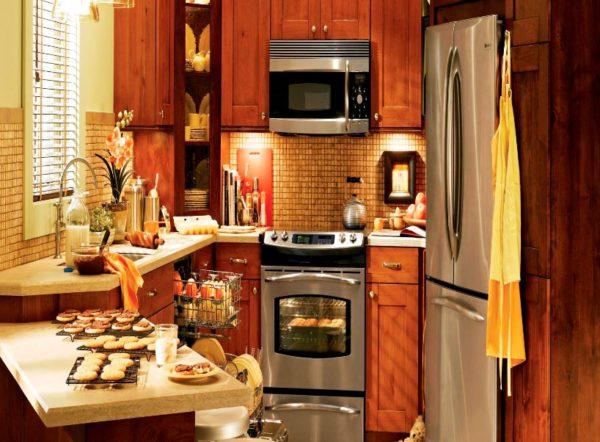 Фото дизайна очень маленькой кухни в квартире хрущевке