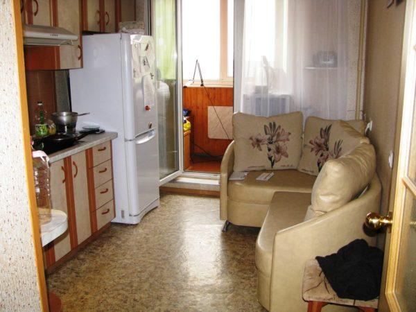 Модульный диван можно размещать так, как вам удобно
