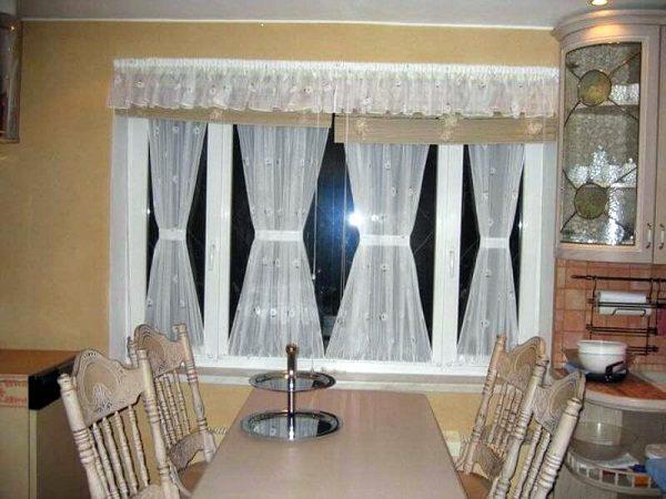 витражные шторы