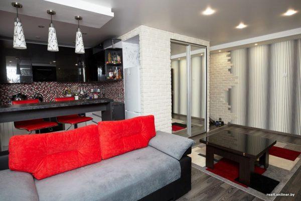 Как выбрать диван на кухню квартиры-студии