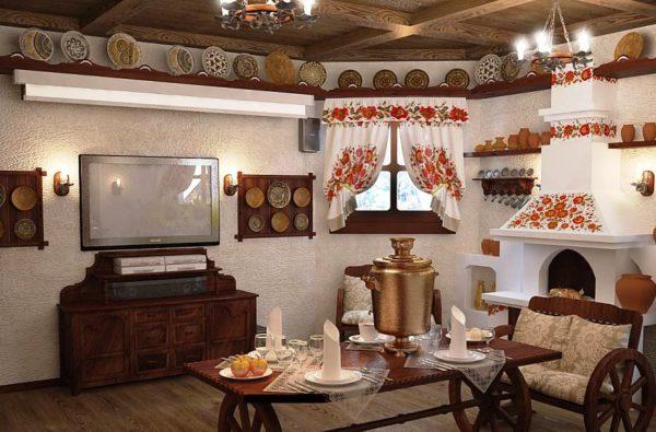 Кухня в украинском стиле: колорит и домашний уют в современном дизайне