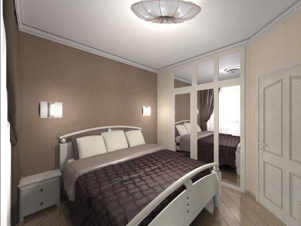 А вот для сравнения интерьер спальни 13 кв м