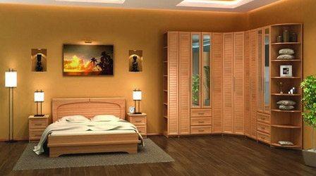 Угловая спальня