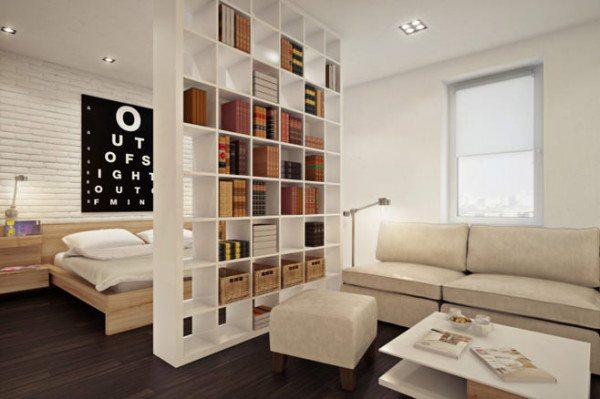 Большой стеллаж – отличный вариант для хранения большого количества вещей
