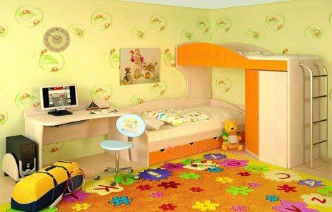 Бумажный вариант самый безопасный для детской комнаты.