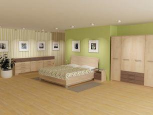 Цветовая палитра мебели в вашей спальне должна точно соответствовать выбранной палитре всего помещения от пола до потолка («G»)