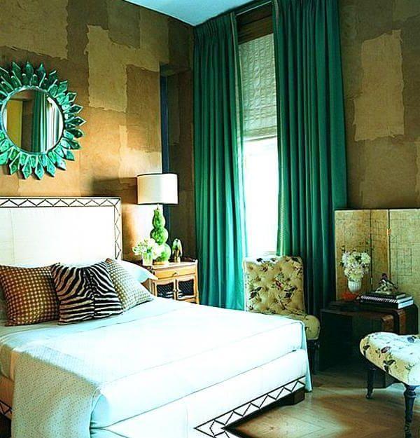 цвет спальни подобран под фен шуй