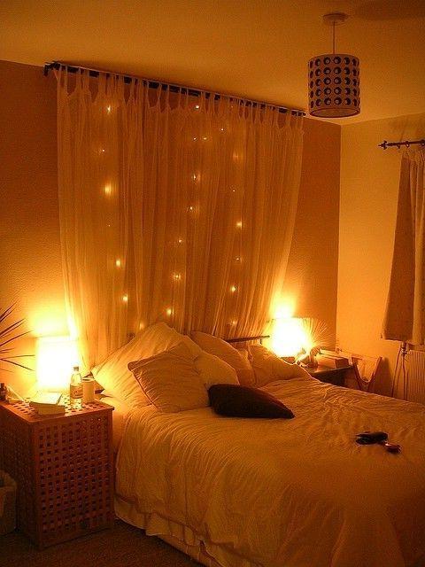декоративные струнные светильники