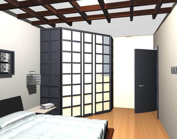 Дизайн-проект маленькой спальни создать своими руками совсем не сложно, благо «позиций», о которых приходится думать, не так много (фото «В»)