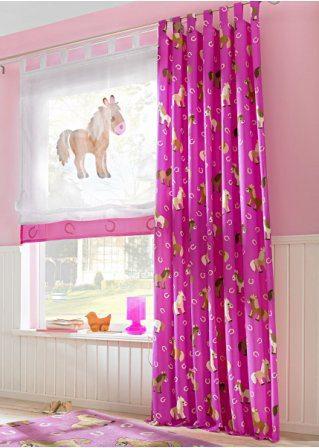Дизайн штор с рисунком может стать прекрасным дополнением.