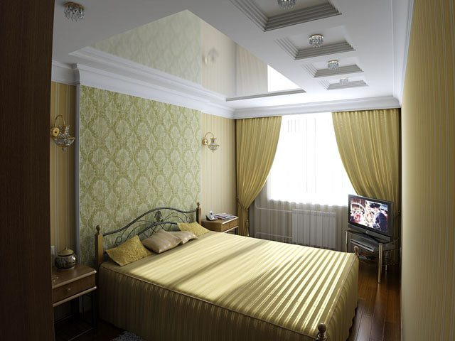 дизайн спальни 3 на 3 фото