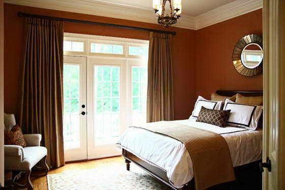 Если вы хотите оформить помещение по фен-шуй, то коричневый не стоит использовать.