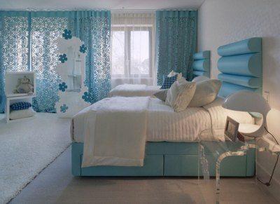 Этот цвет хорошо подходит для детской спальни