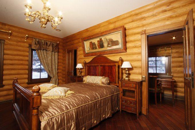 Философия дизайна спальни в срубе - это простота в любом стиле, создание оазиса чистоты и покоя, гармонии с природой, где мы обретаем спокойствие.