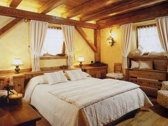 Фото комнаты отдыха в образе кантри.