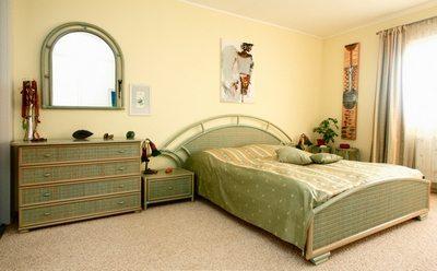Фото ковролина в спальной комнате