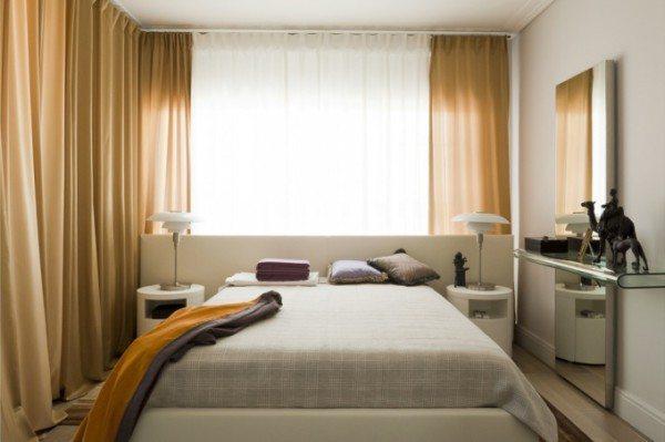 Фото небольшой спальной комнаты