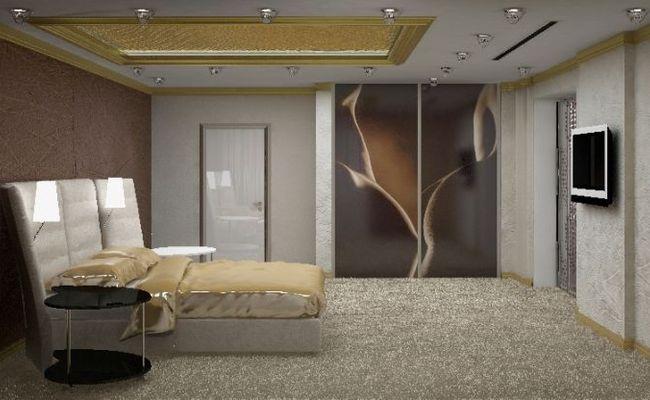 Фото практически идеальной комнаты, но телевизор китайцы бы забраковали – ему не место в спальне