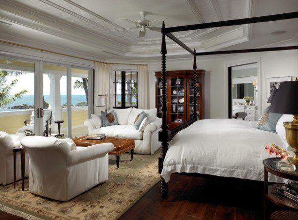 Фото примера расстановки мебели в спальной комнате