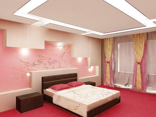 Фото простого, но стильного интерьера спальни