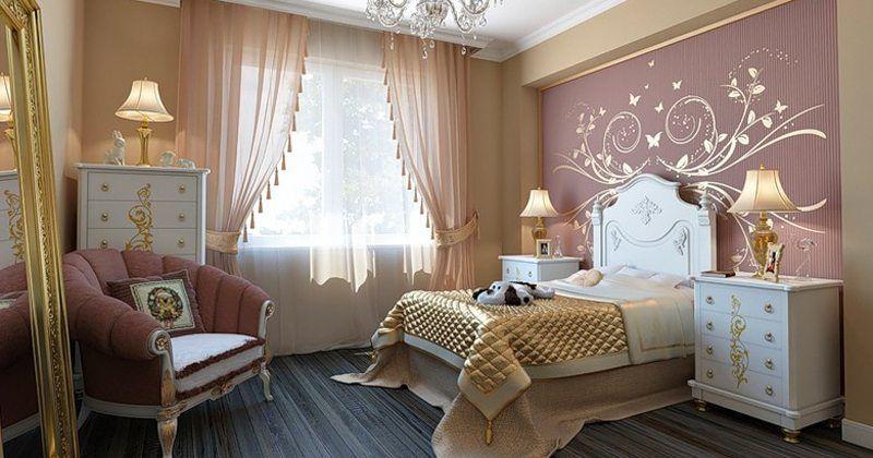 Фото штор с декоративными элементами украшает пространство