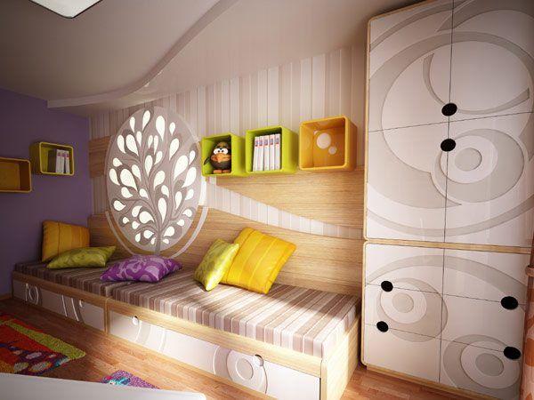 Фото: современная детская комната