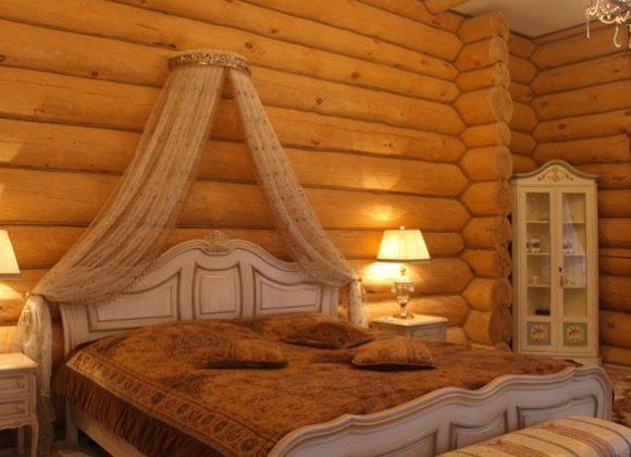 Фото спальни на даче