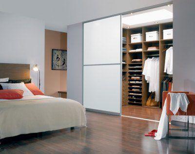 Фото спальни с гардеробной