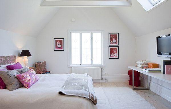 Фото спальни в интерьере 2014 года