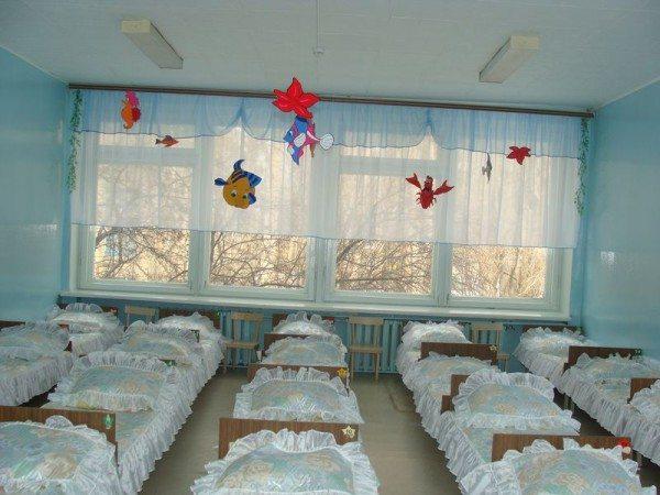 Фото типичной спальни муниципального детского сада