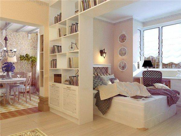 Французский Прованс в оформлении спальни