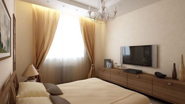 И в маленькой по площади комнате можно создать уютный и оригинальный дизайн.