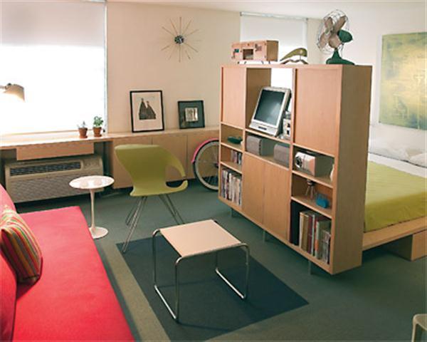 Иногда совмещение комнат является единственно возможным решением