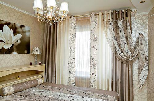Использование с прочными, плотными шторами