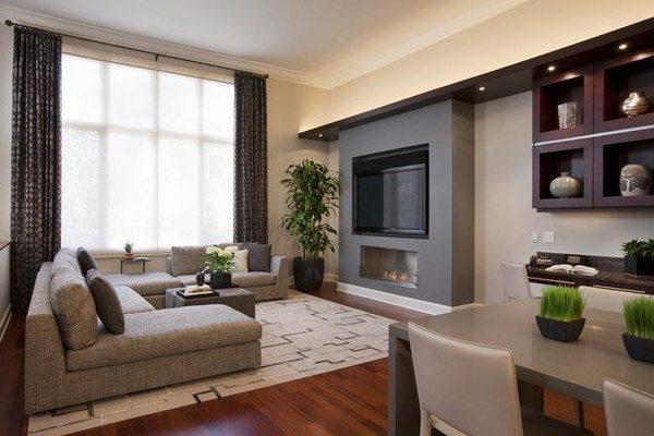 Как обставить гостиную спальню правильно в однокомнатной квартире