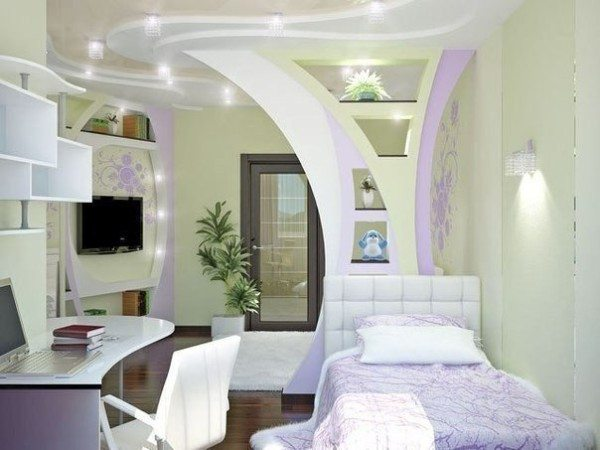 Какие только идеи ремонта спальни сейчас возможно воплотить в реальность, благодаря современным материалам!