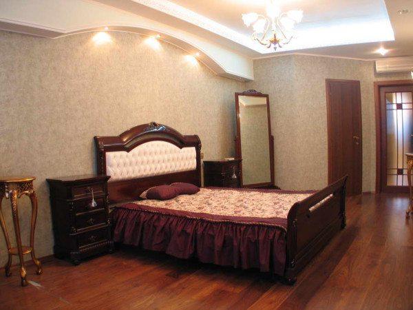 Классический стиль спальни.