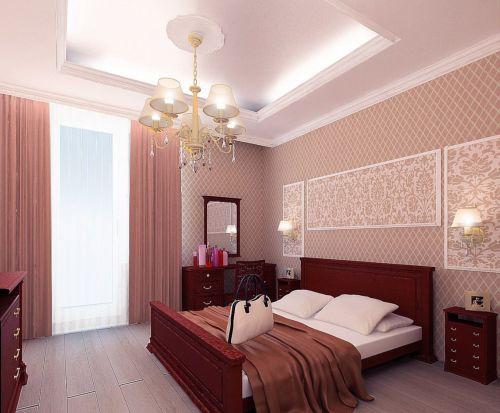 Комбинированные способы освещения спальни – отличный вариант для любых случаев