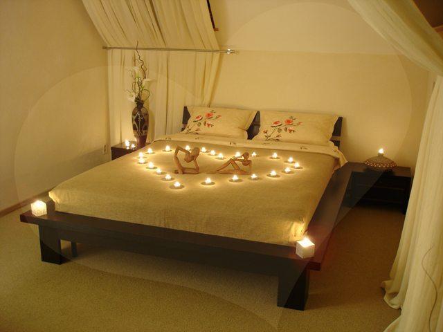 Дизайн спальни для молодожен