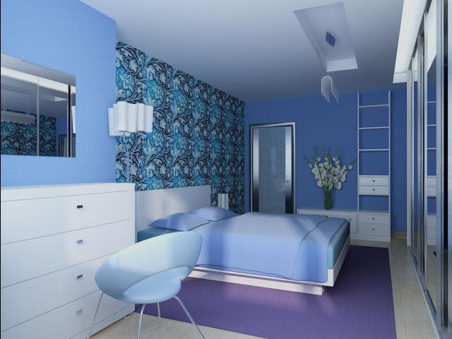 Комната излучает свежесть, чистоту и домашний уют.