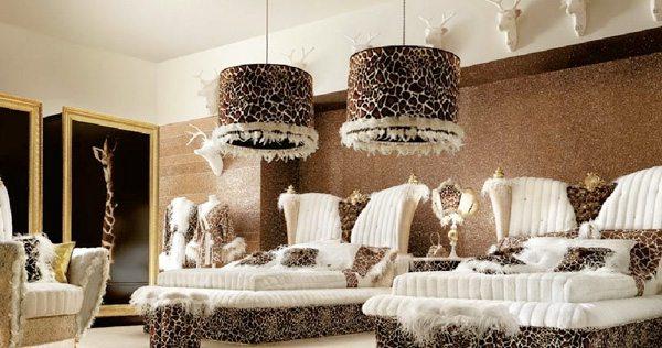 Комната отдыха в стиле арт-деко