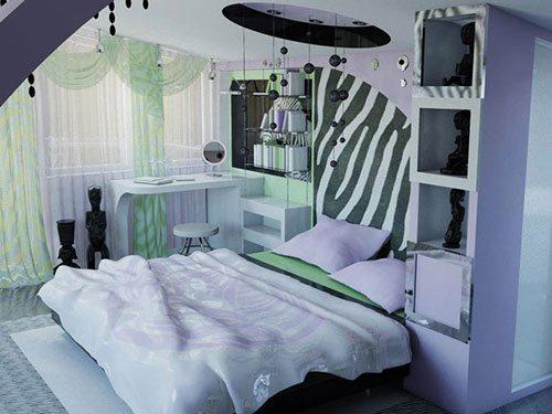 Комната в стиле фьюжн.