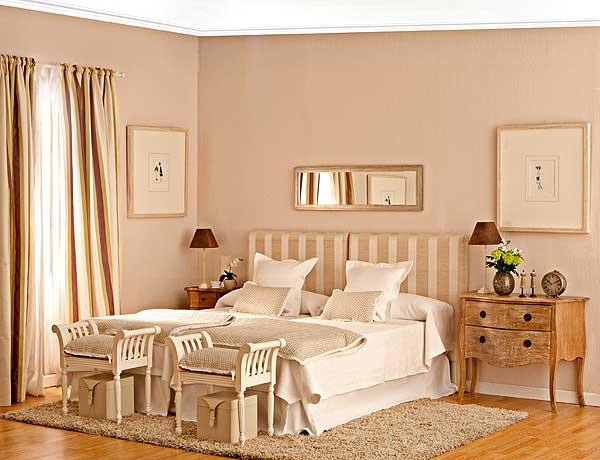 Красивая и комфортная спальня