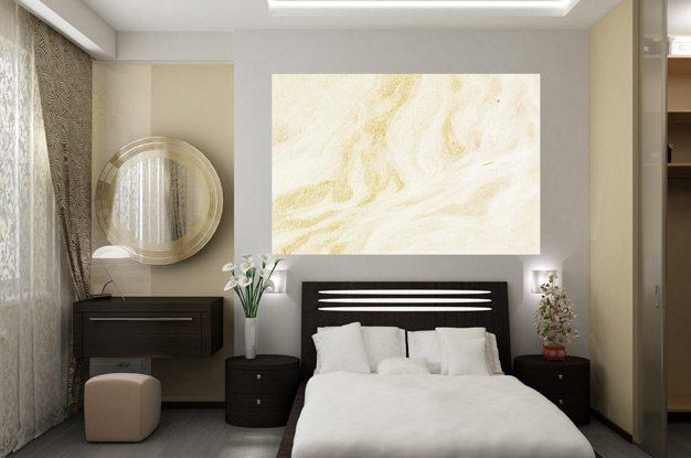 Дизайн спальни гостиной 16 м
