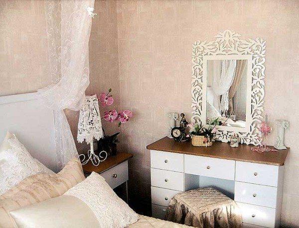 Красивые аксессуары в спальне