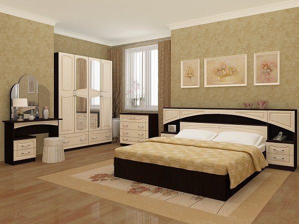 Кровать, как интерьерный центр спальни